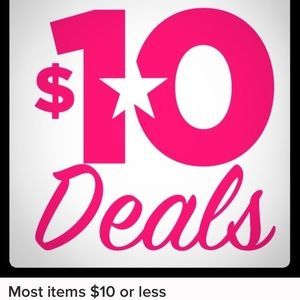 Most women's items are $5-$10!